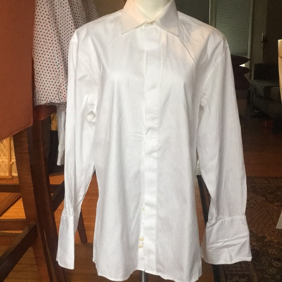 Tasso Elba white dress shirt